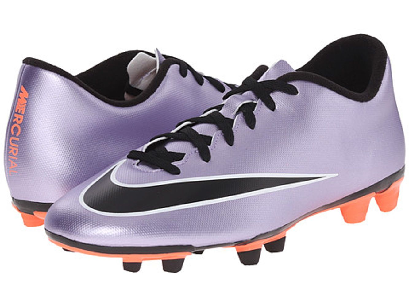 Nike Jr Mercurial Vortex II FG Youth Soccer Cleats Shoes Metallic Purple Sz  2.5 (eBay Link) 198a06e7e27