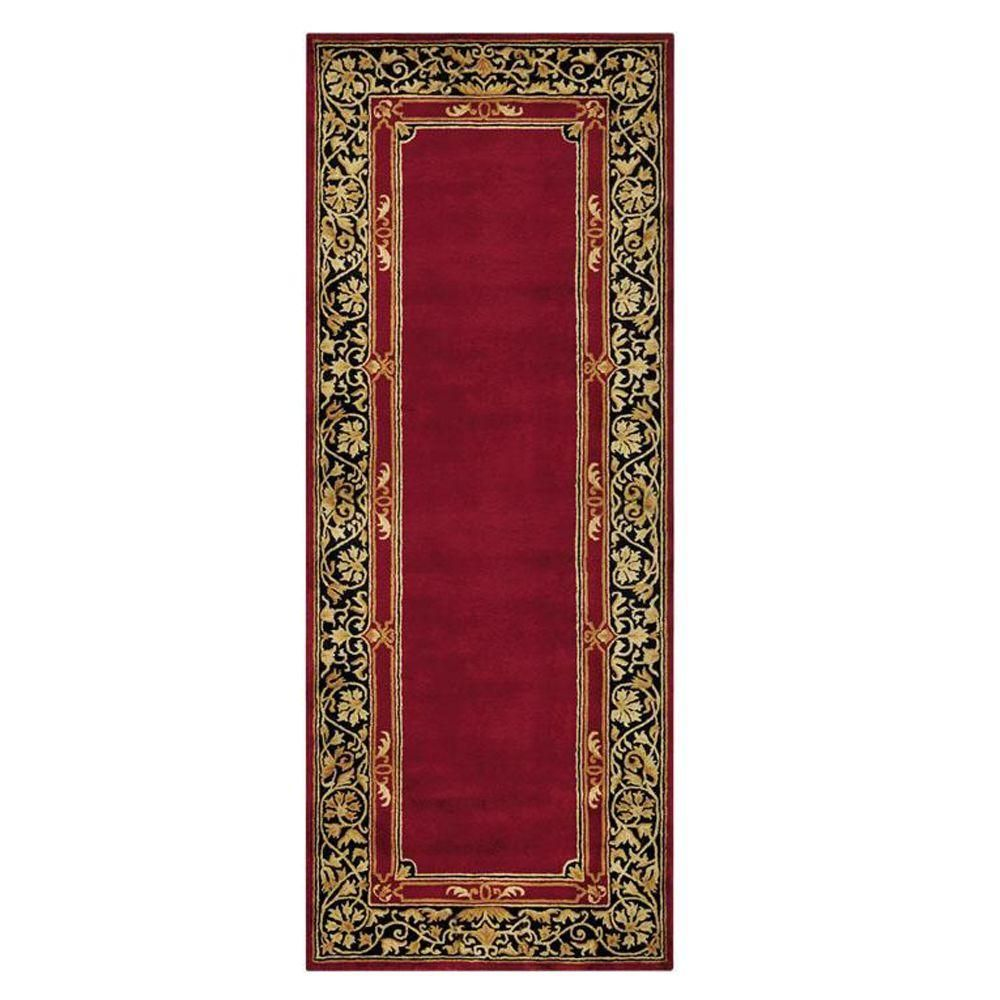 Churchill Red 2 Ft 9 In X 14 Rug Runner
