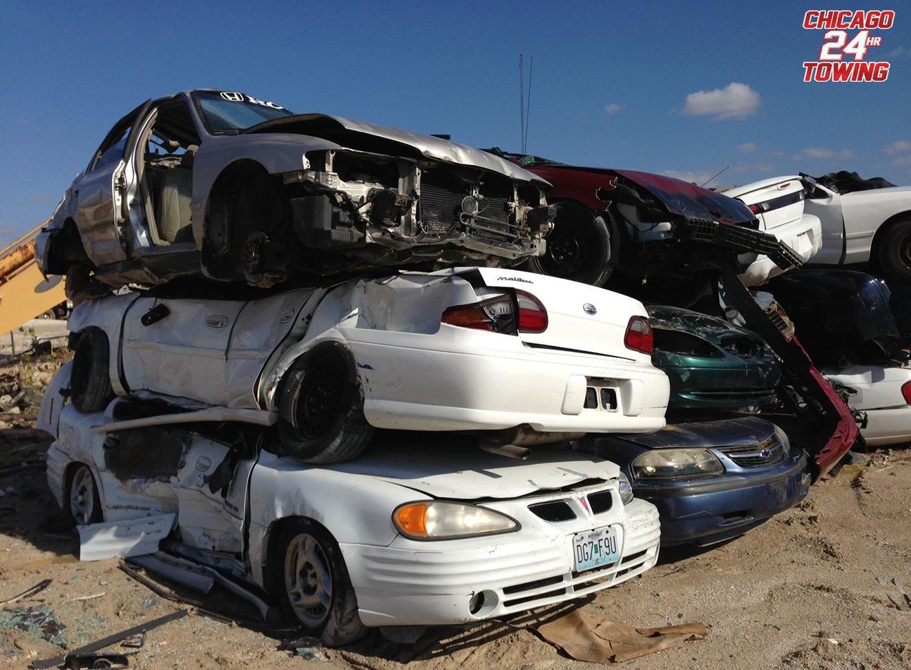 We offer cash for junk cars! (773) 681-9670 #EmergencyTowingChicago ...