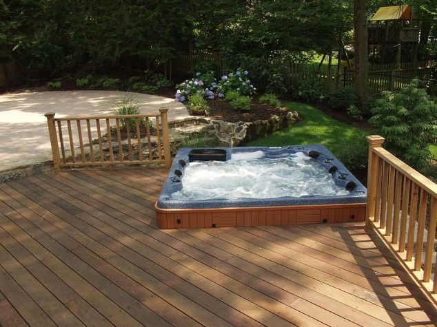 Do You Like Hot Tubs On A Deck Or Built In In 2019