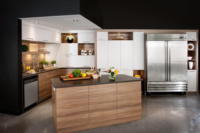 des armoires de cuisine en m lamine de qualit armoires cuisines action cuisines en 2018. Black Bedroom Furniture Sets. Home Design Ideas
