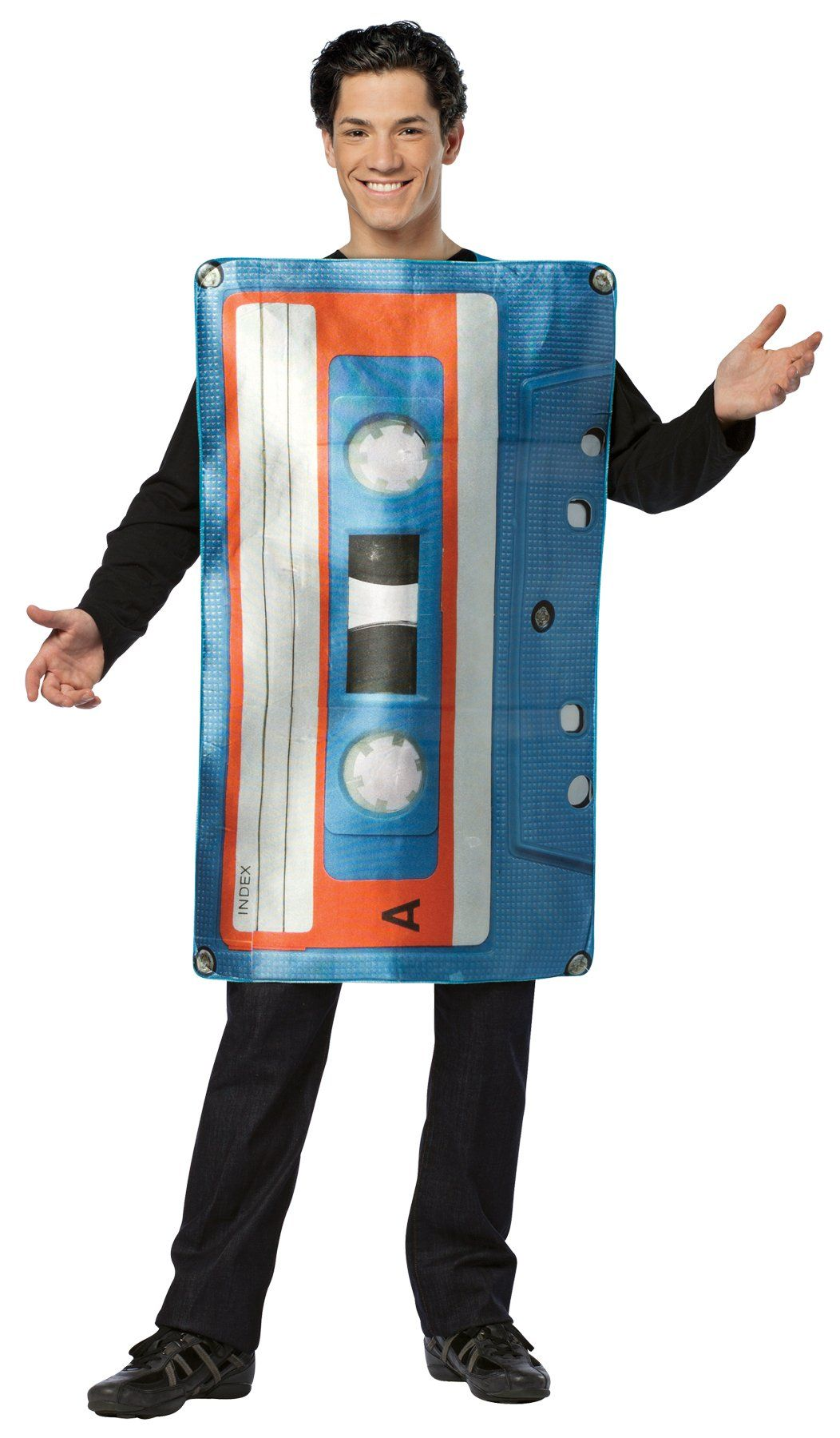 Get Real Cassette Tape Adult Costume in 2019 Kid,s