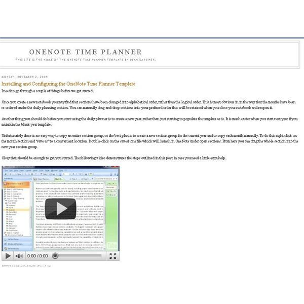 Microsoft Daily Planner Microsoft Onenote Is An Incredibly Flexible And Powerful Application .