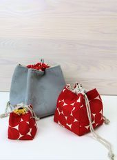 Photo of ᐅ sew Japanese bag – easy with these instructions!