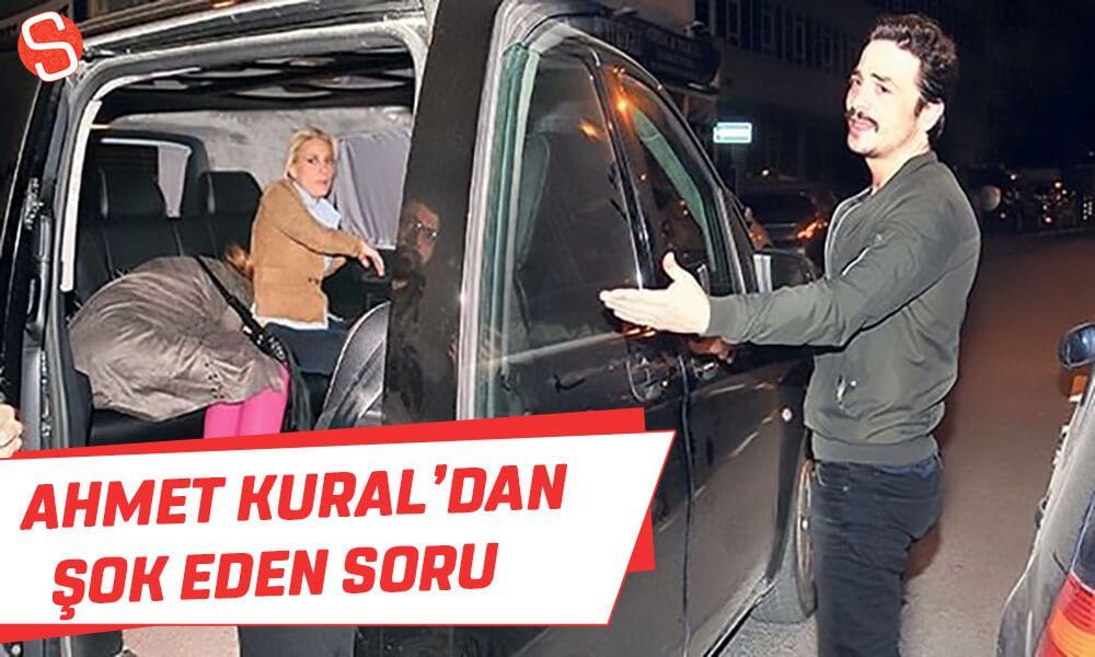 Ahmet Kural Arabada Mi Seviselim Dedi Gazeteciler Sok Oldu Ahmetkural Sevisme Muhabir Araba Olinda
