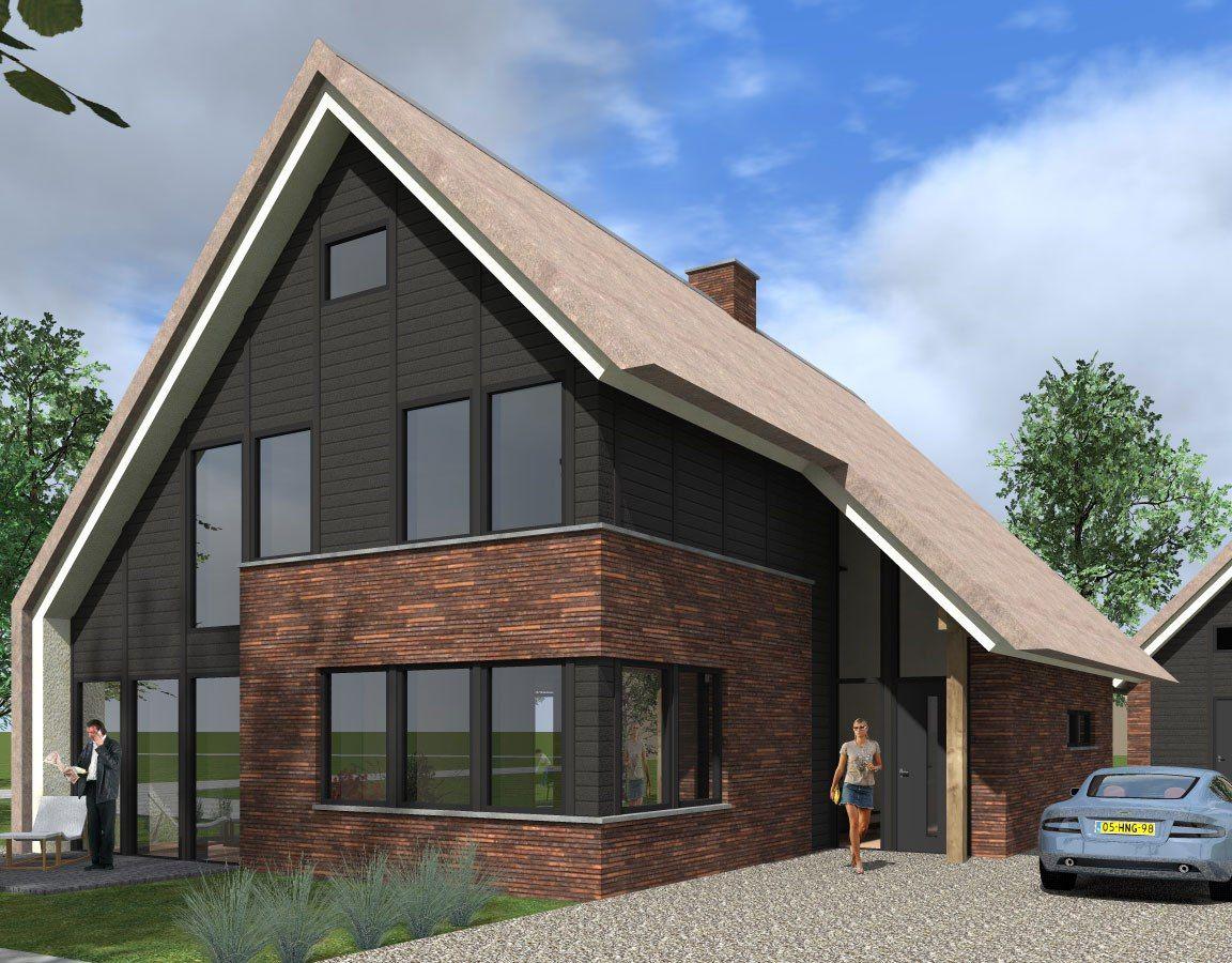 Een eigentijdse zweedse woning in harderwijk deze woning for Zweedse woning bouwen