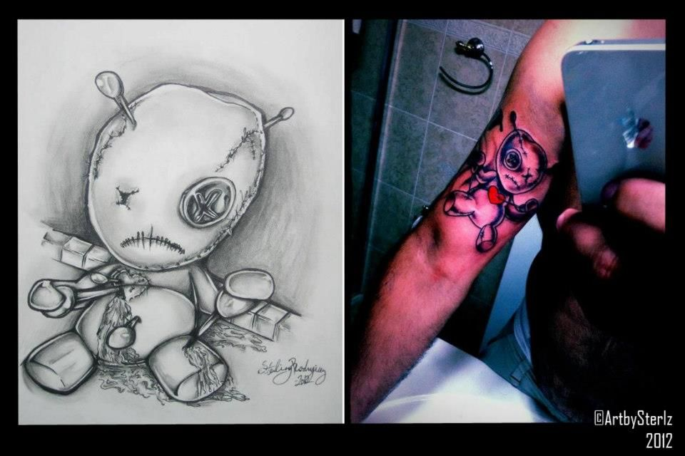 Pin by You v3z on Tatoo Tatuajes | Pinterest | Voodoo doll ...