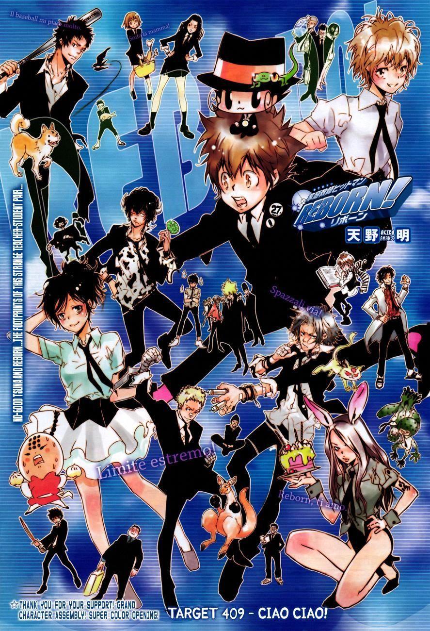 Read Manga Katekyo Hitman Reborn Target 409 Online In High