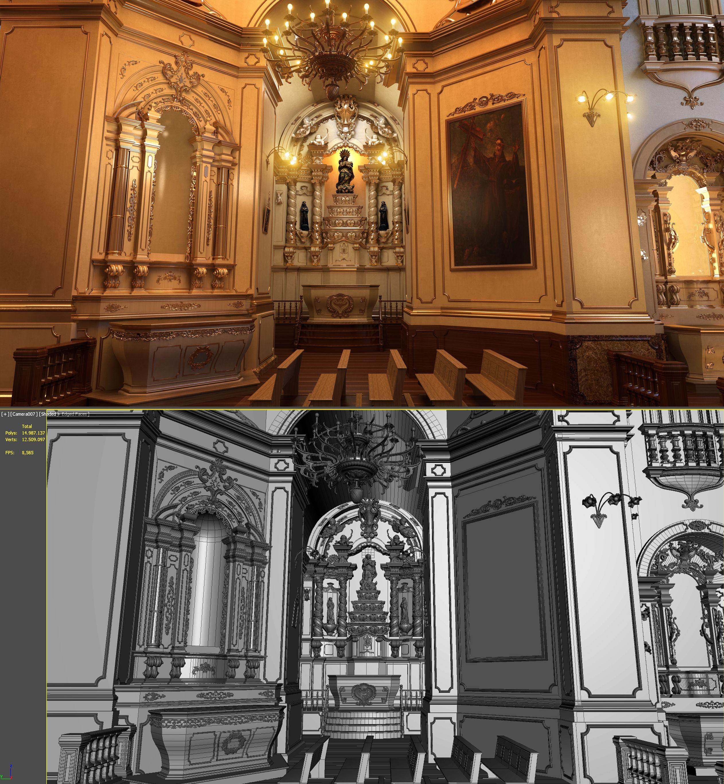 Layout 3D: OC3 Design projeto: Formarte