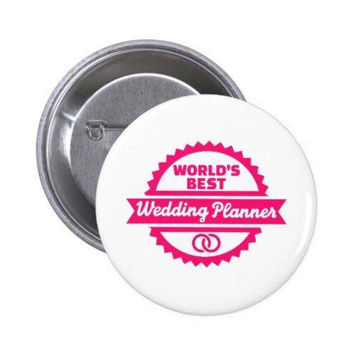 Worlds Best Wedding Planner Button