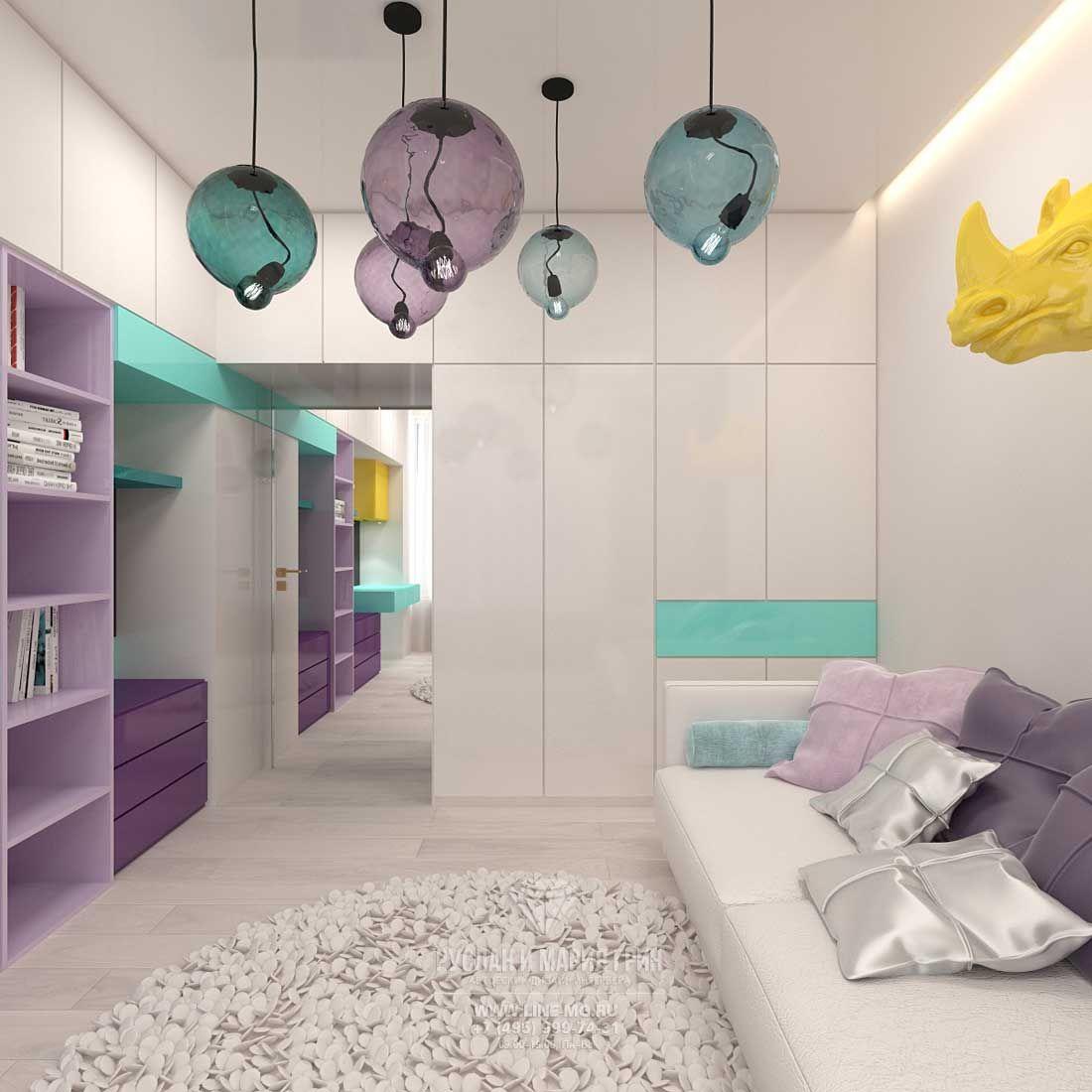 дизайн подростковой комнаты для мальчика в современном стиле 5