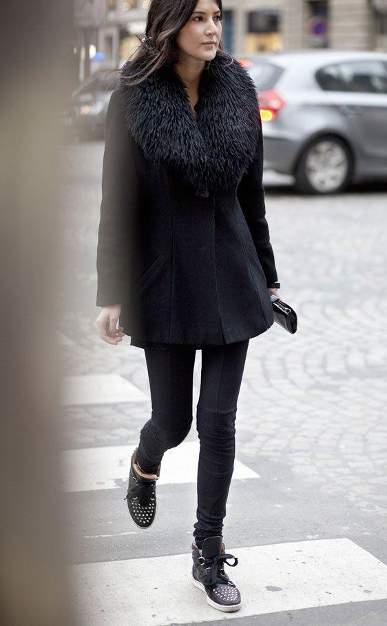 Moda en la calle en Paris