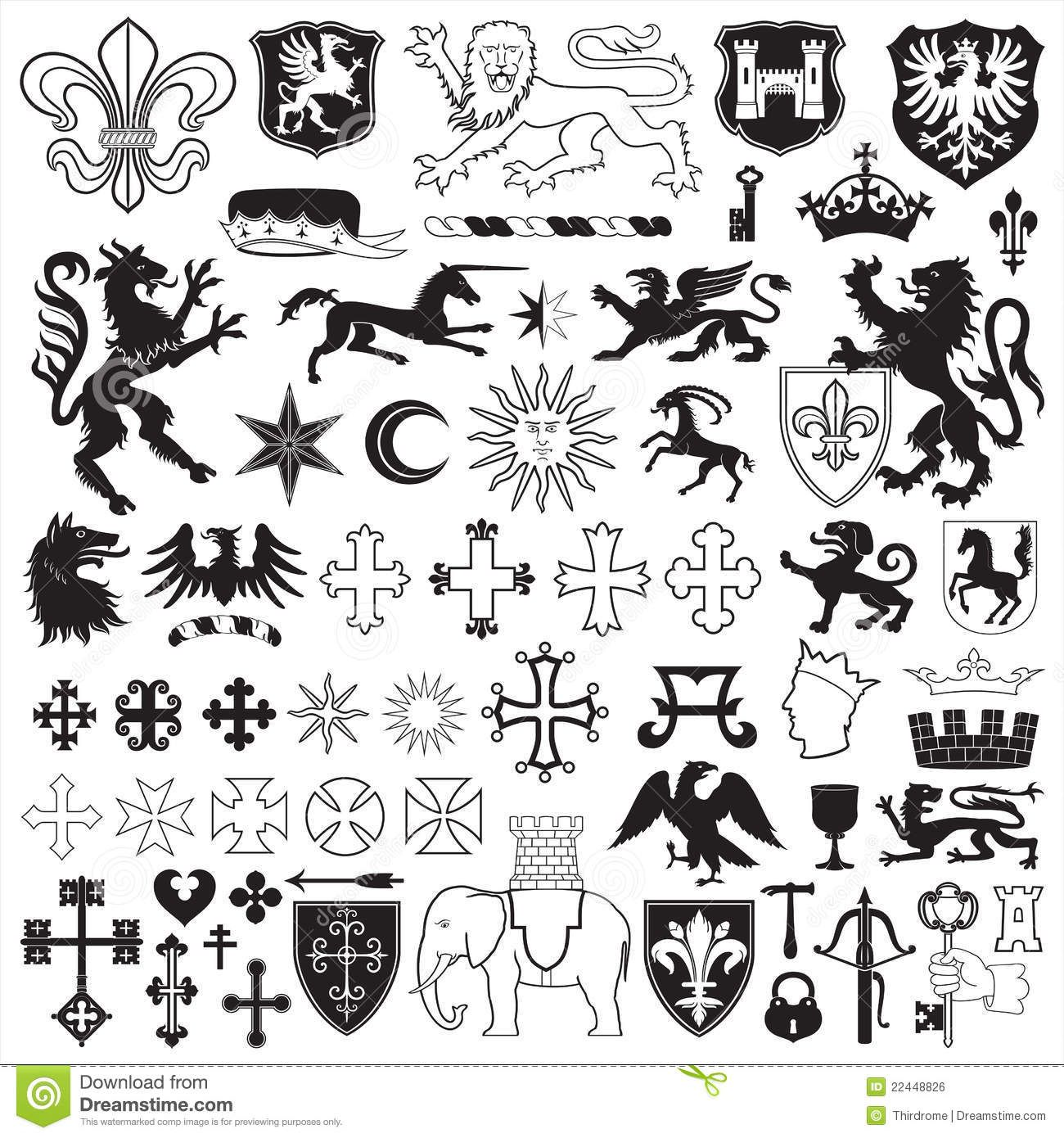 Images for coat of arms symbols animals family crest symbols etc images for coat of arms symbols animals buycottarizona Gallery