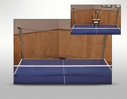 Ball Catch Net Ping Pong Balls Are Funneled Into Collection Bucket Greatly Reduces The Need For Ball Pickup Quickly Attaches And Detaches From Ping Pong Ta
