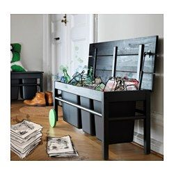 m bel einrichtungsideen f r dein zuhause wishlist pinterest ikea b nke und abfalltrennung. Black Bedroom Furniture Sets. Home Design Ideas