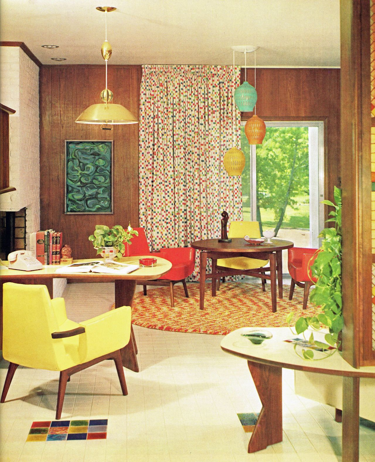 pool 1960's background | astounding 1960 s retro living room