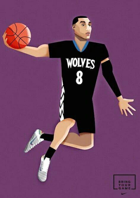 Zach Lavine Nike Basketball Nba Art Usa Basketball