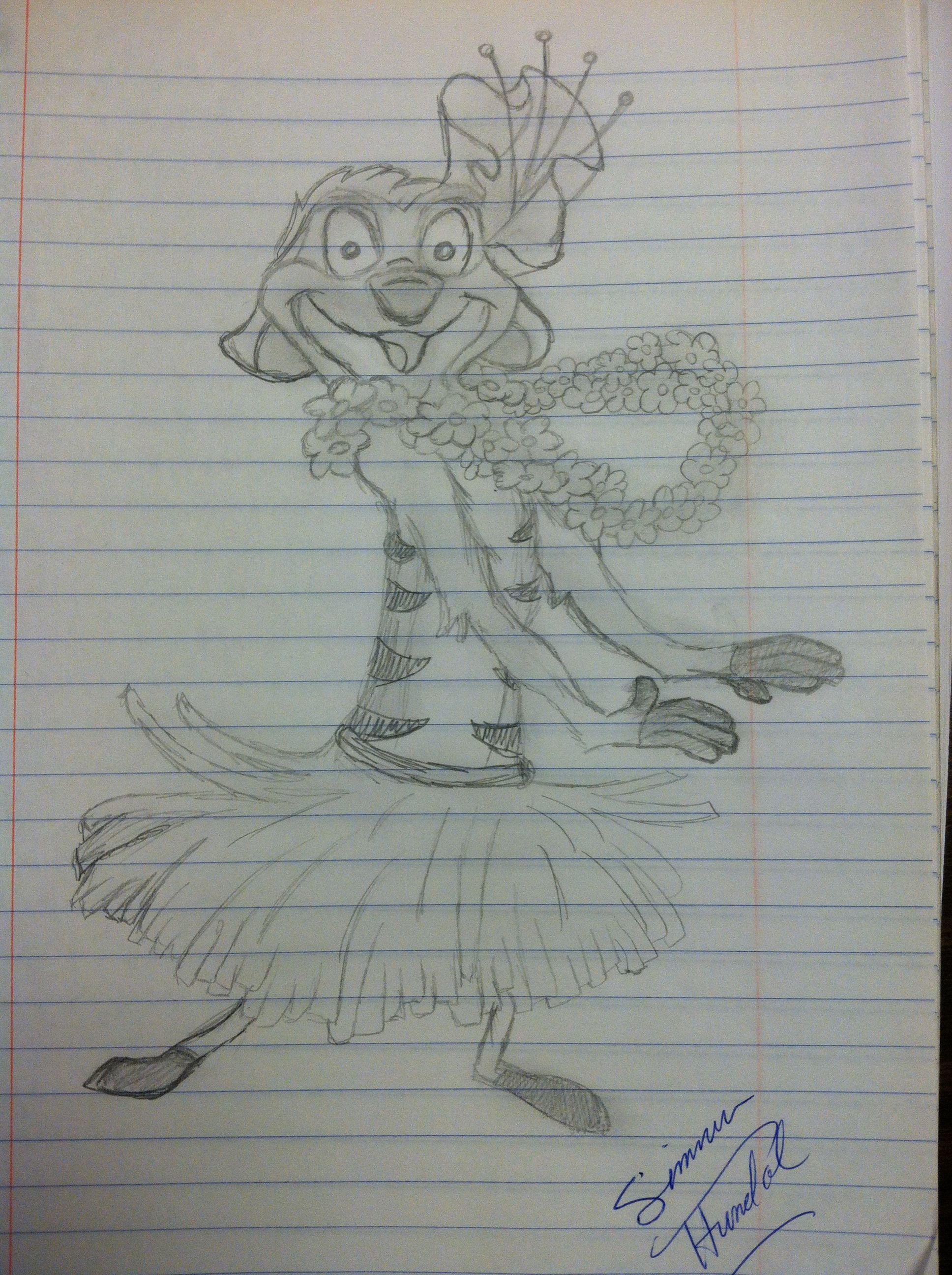 Sketch of Timon