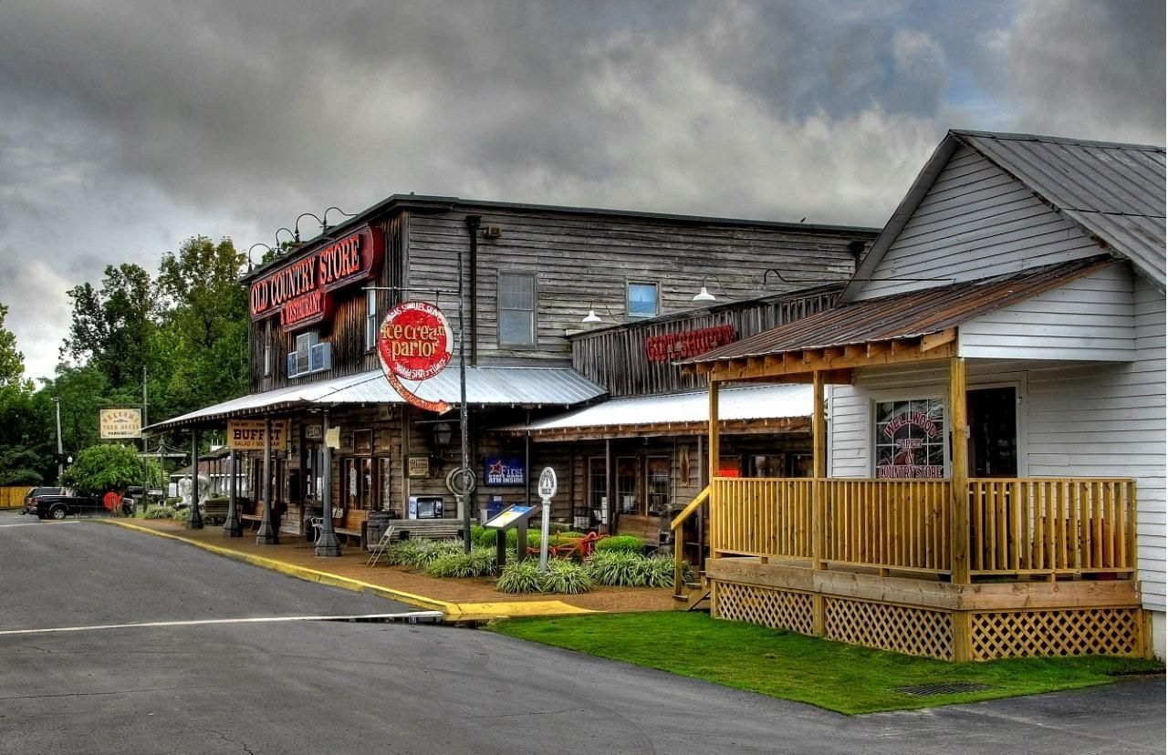 Old Country Store Complex In Jackson Tennessee I Used To