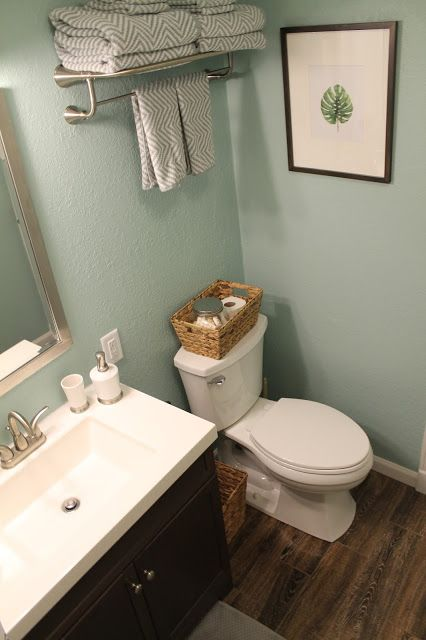 Perfect HGTV Home Sherwin Williams Celadon Pottery Paint And Awesome Tile That  Looks Like Wood Planks.