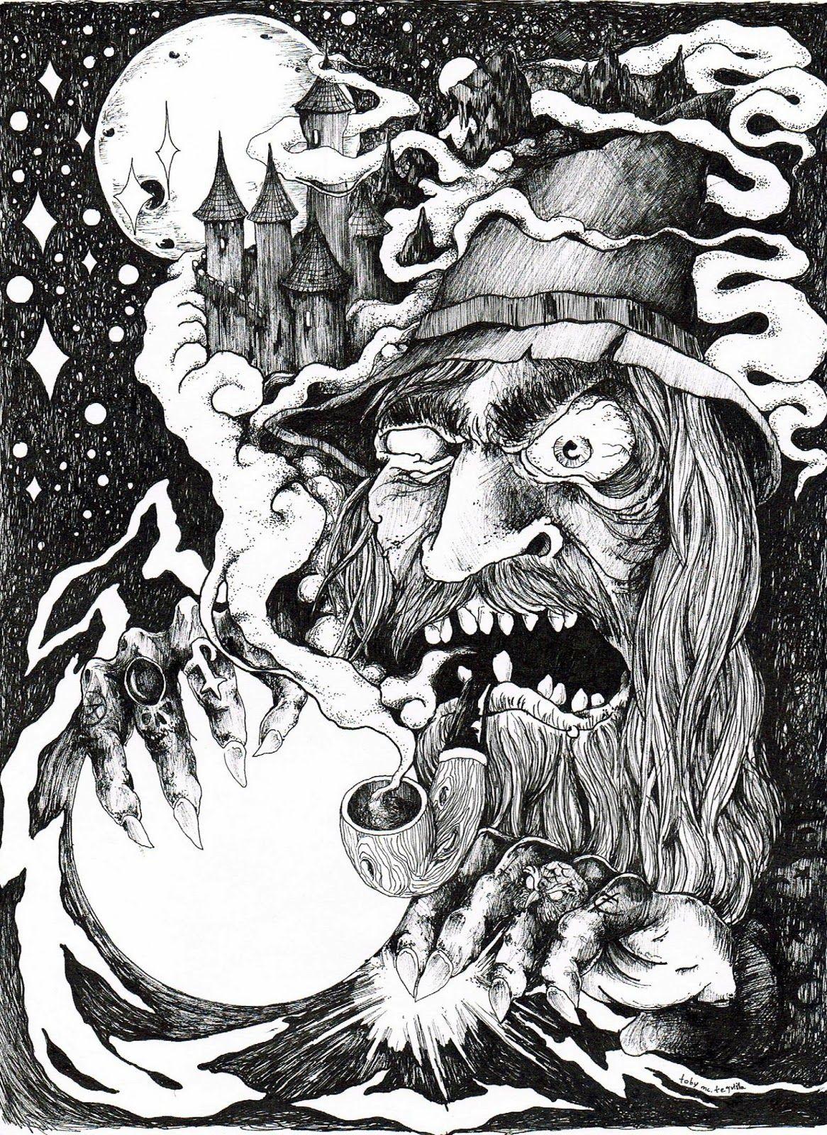 .Evil Wizard arttequila.blogspot.se