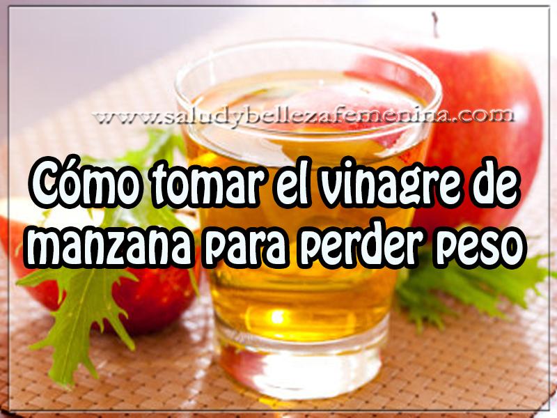 vinagre de alcohol sirve para adelgazar