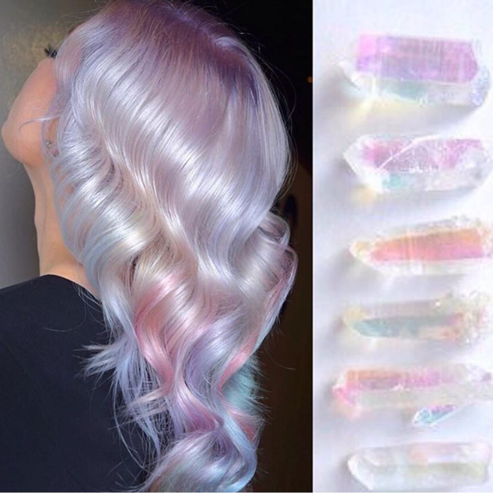 Image about crystals in Hair inspiration 💇🏾‍♀️ by