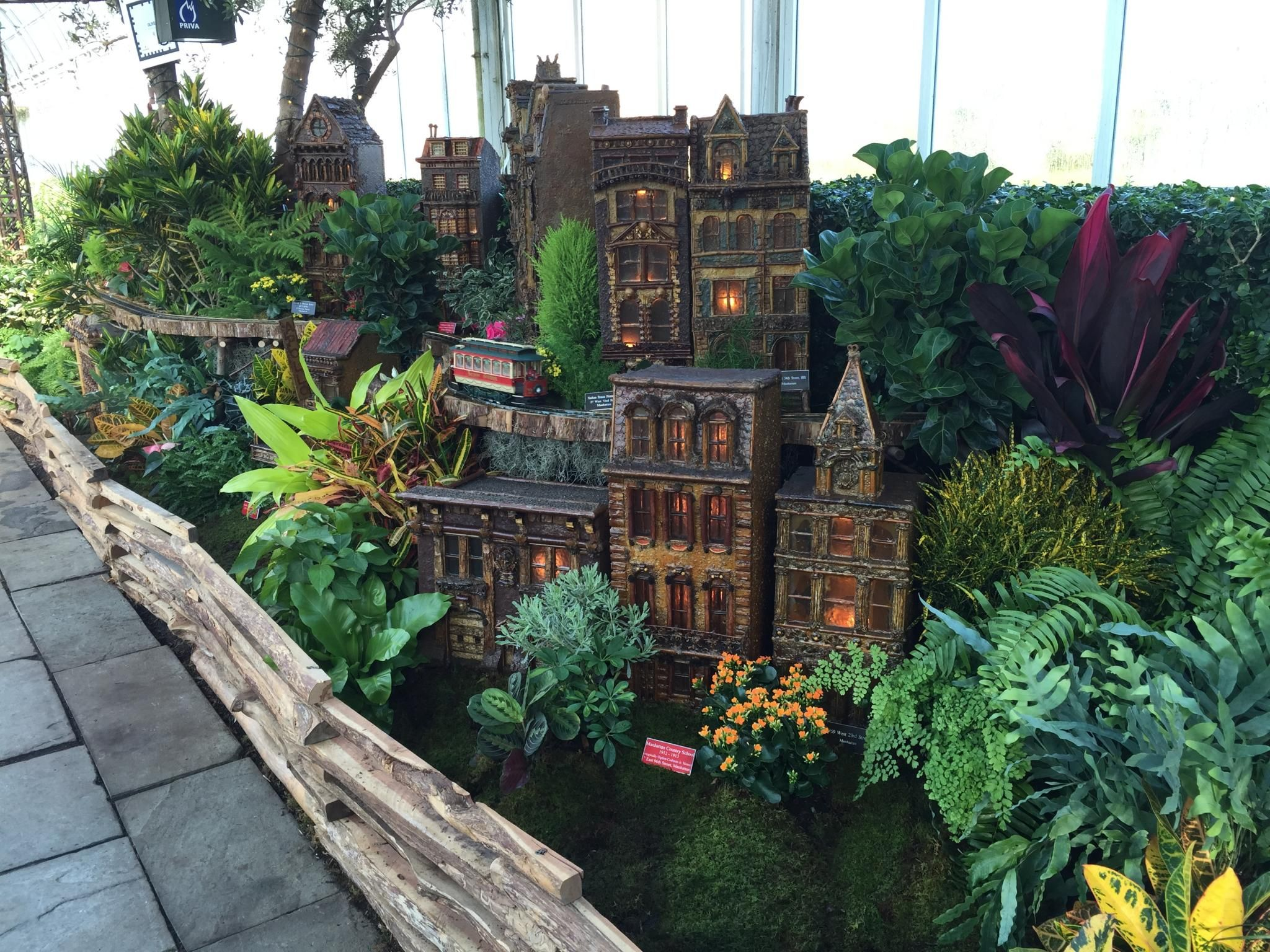 The Holiday Train Show At The New York Botanical Garden  Click Through To  See