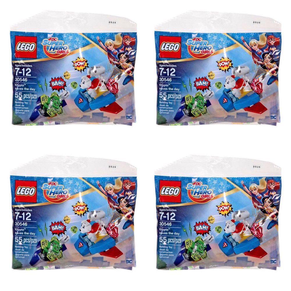 LEGO DC Super Heroe Girls Polybag  Krypto saves the day set 30546