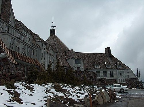 The Shining: Film location for The Overlook Hotel - Timberline ...