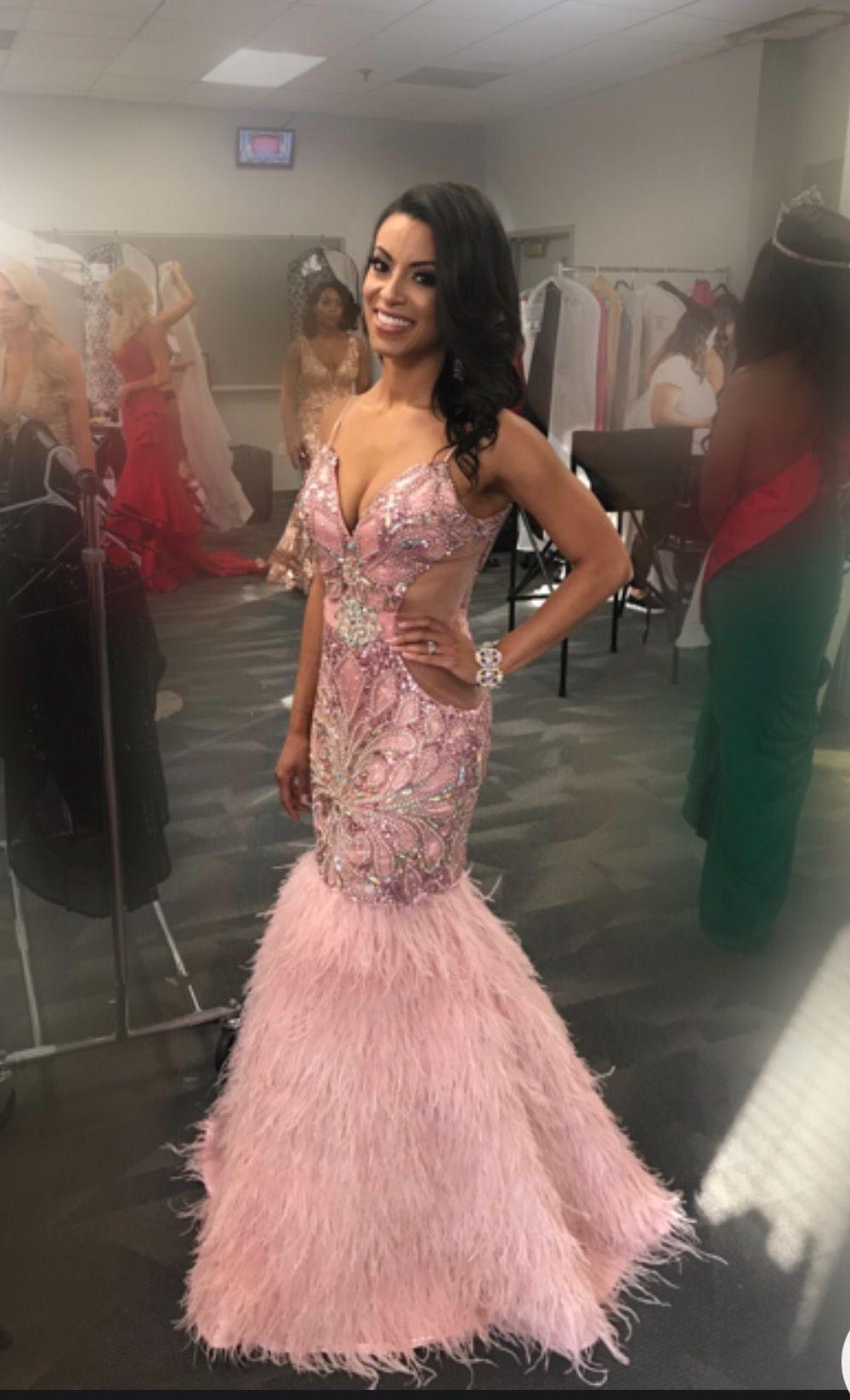 Liana Brackett Mrs Georgia America  Evening Gown Pageant