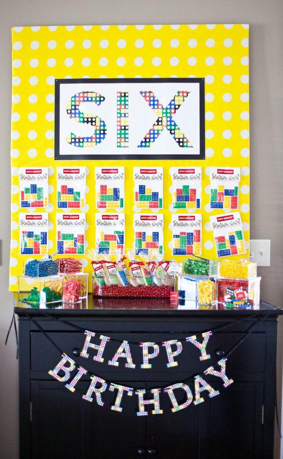 DIY: Lego Inspired Party