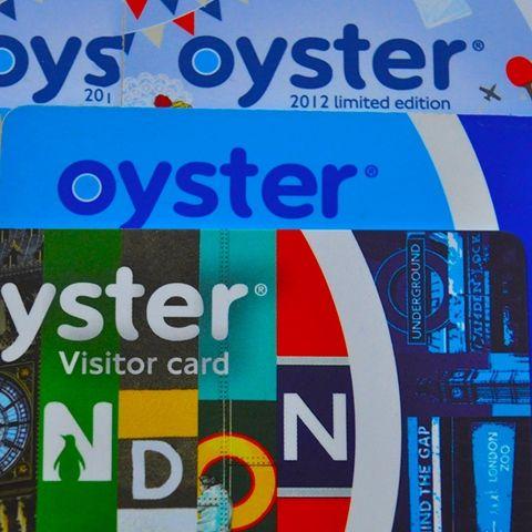 London Oyster Card Opladeligt Bus Metrokort I London Oyster
