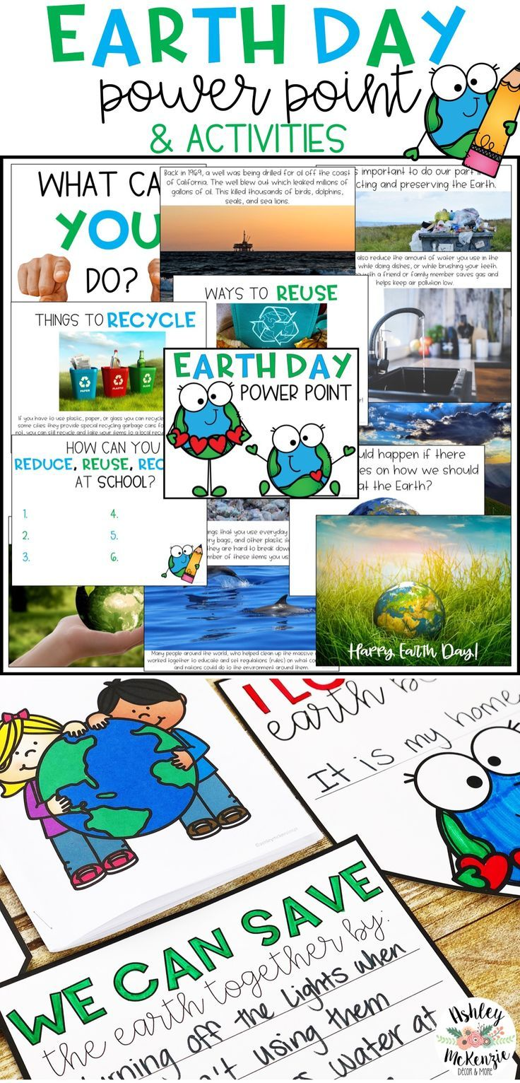 Earth Day Power Point & Activities Pack | TPT Pinning Board | Pinterest