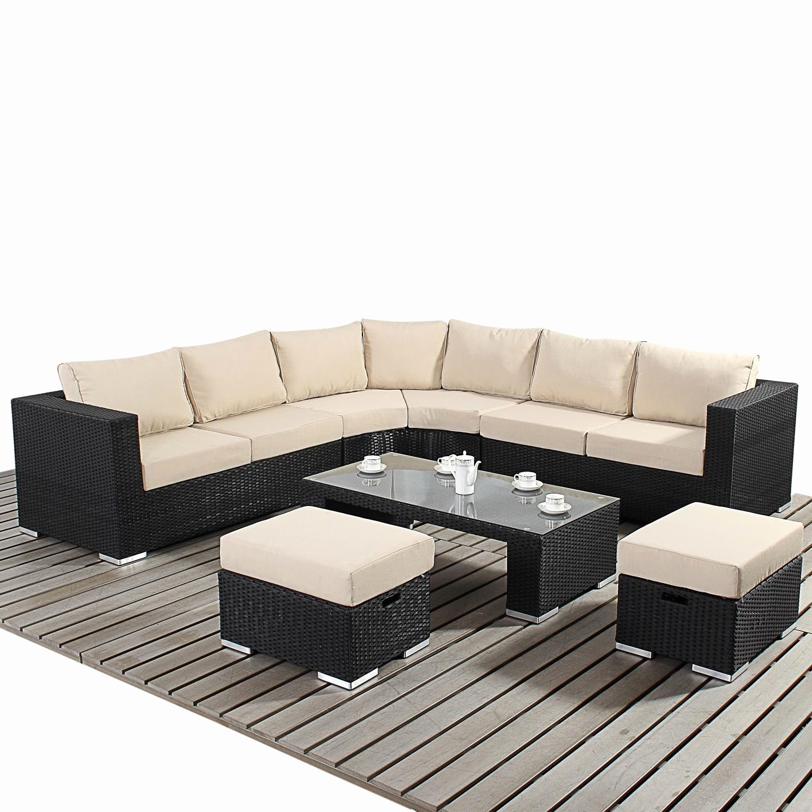 Luxury Rounded Corner Sofa Art New For 2015 Garden Village