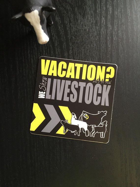 Livestock Showbox Sticker Livestock, Showing livestock