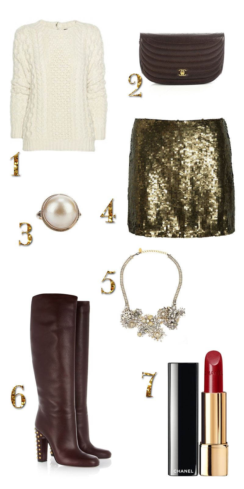 Waves of Chic: The Outfit ~ Office Christmas Party #personalbrand ...