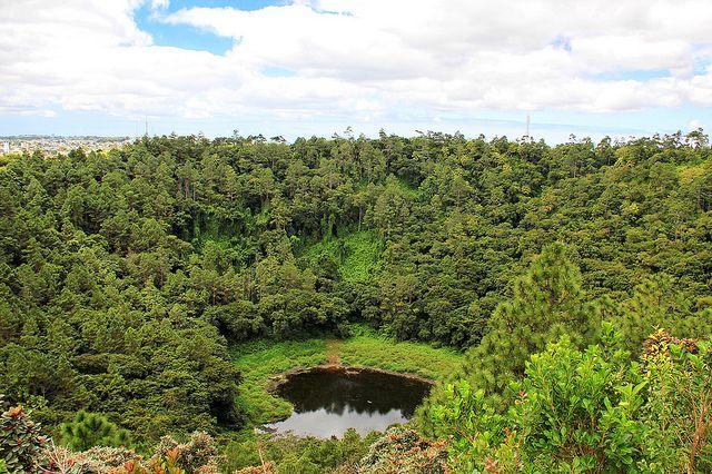 Trou aux Cerfs Vulcano in Curepipe - Mauritius