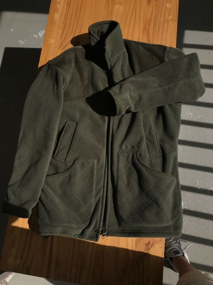 quality design super specials latest discount Orvis Men's Barbour Dunmoor Fleece Waistcoat Jacket Color Olive ...