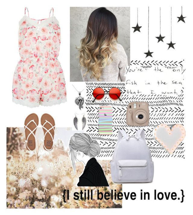 """""""{I still believe in love}"""" by natalialovesnutella12 ❤ liked on Polyvore featuring Accessorize, Jewel Exclusive, Graham & Brown, Casetify, Billabong and Vintage Marquee Lights"""