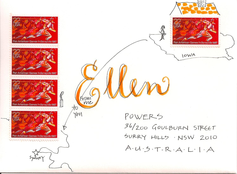 Pushing The Envelopes Ellen