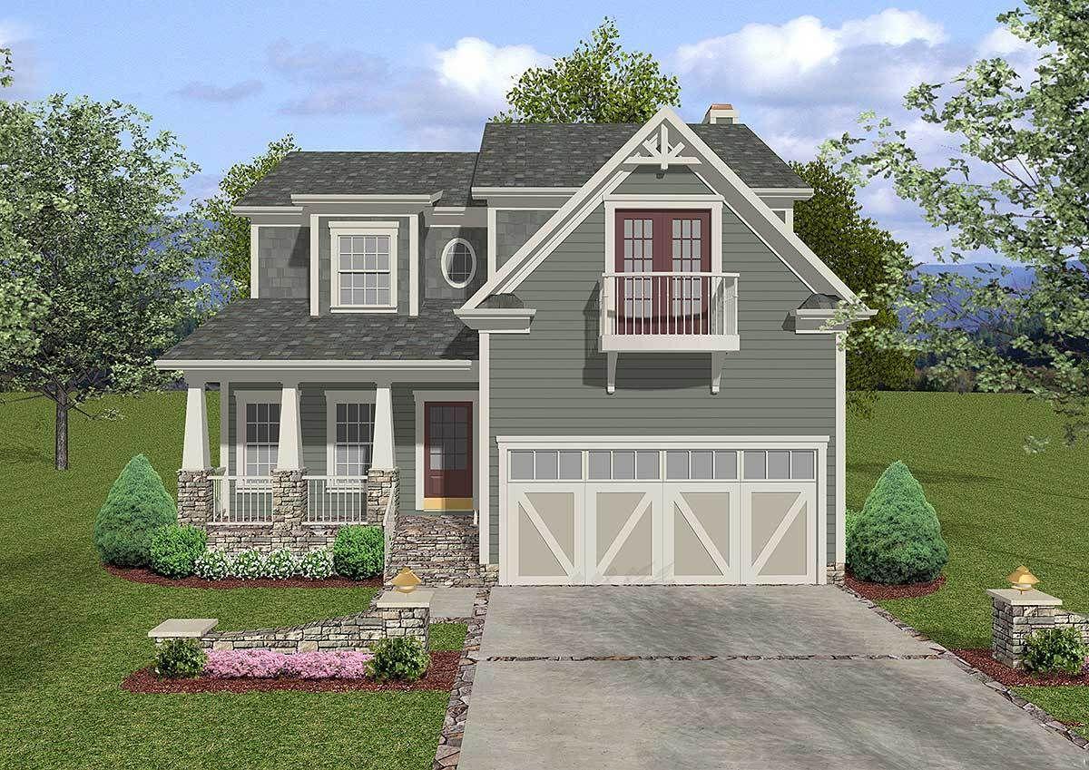 Plan 20046ga Baby Boomer House Plan With Elevator Craftsman House Plans Craftsman Style House Plans Craftsman House