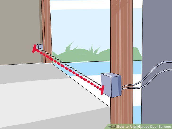 How to Align Garage Door Sensors | Garage door sensor ...