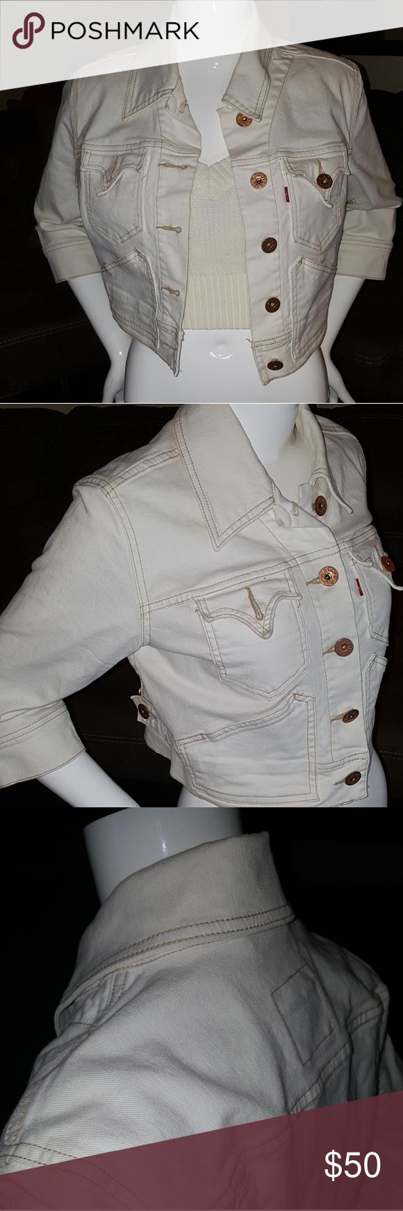 Levi S 80 S Vintage Crop Jacket Clothes Design Fashion Design Fashion Trends [ 1740 x 580 Pixel ]