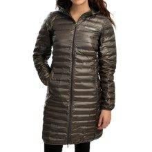 9c5c49a00 Columbia Sportswear Flash Forward Long Down Jacket - 650 Fill Power (For  Women)…