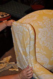 Chair Reupholster Tutorial