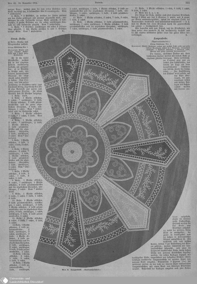 159 [331] - Nro. 43. 15. November - Victoria - Seite - Digitale Sammlungen - Digitale Sammlungen