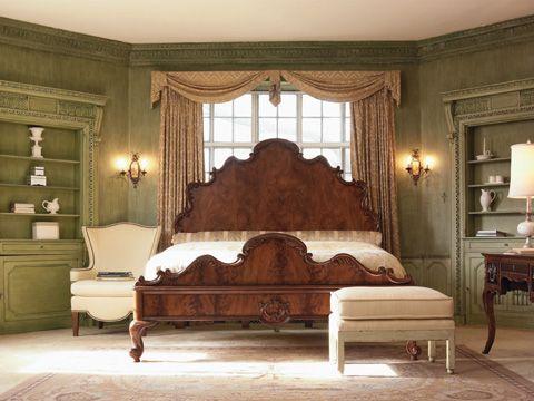 76 H Drexel Heritage Queen Bed Of Ribbon 311 312 Bed Furniture Master Bedroom Inspiration Drexel Heritage Furniture