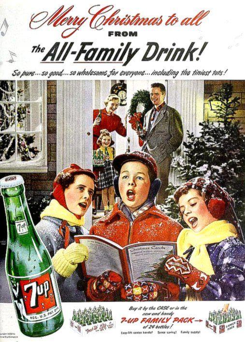 Vintage - 7 Up Christmas