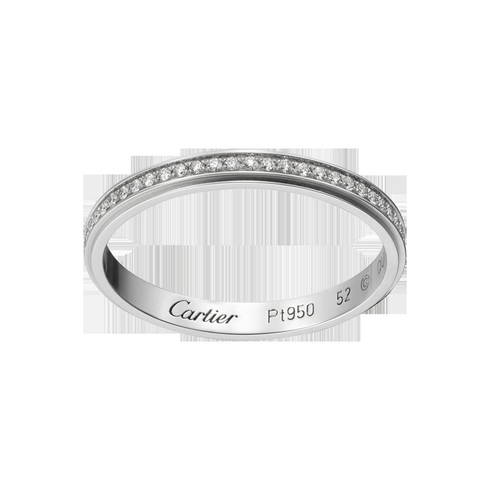 Aliana Cartier dAmour  Rings  Anel de Casamento